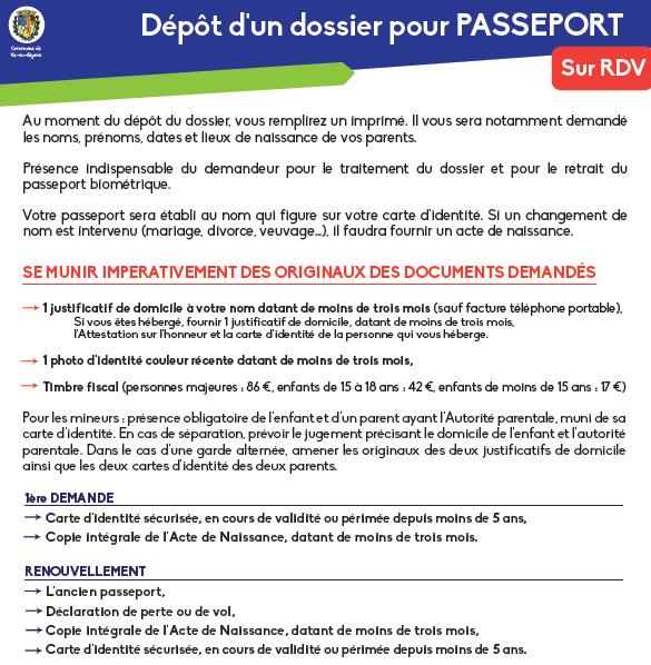 Passeport Vic En Bigorre Site Officiel De La Commune